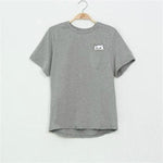 Ladies Moody Cat Oversize Tee
