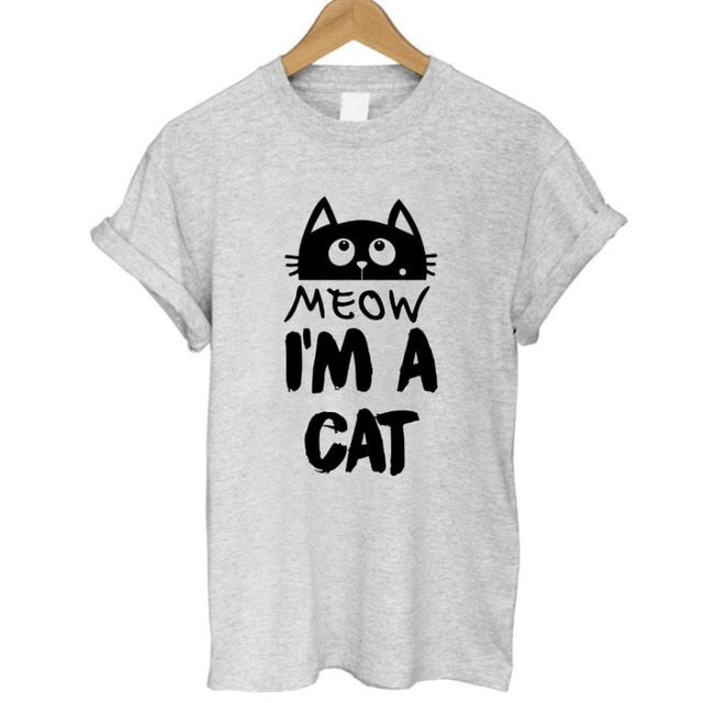 Ladies I'm a Cat Tee