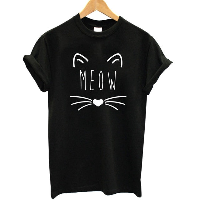 Ladies Whiskers Tee
