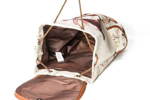 Ladies Canvas Print Backpack (Variety)
