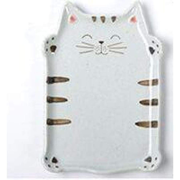 Cute Cat Ceramic Mug & Plate - Plate - Cup & Mug