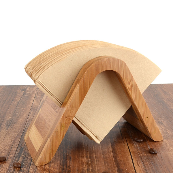 Wooden Coffee Filter Paper Holder