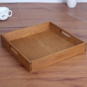 Rustic Japanese style Wooden Tray