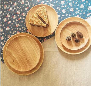 High Quality Wooden Round Plate - Plate