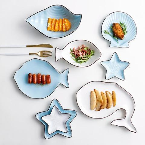 Blue Ocean Ceramic Collection - Plate