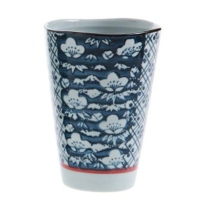 Hengfeng Handmade Ceramic Tea Cup - Blue Cloud / 200Ml - Cup & Mug