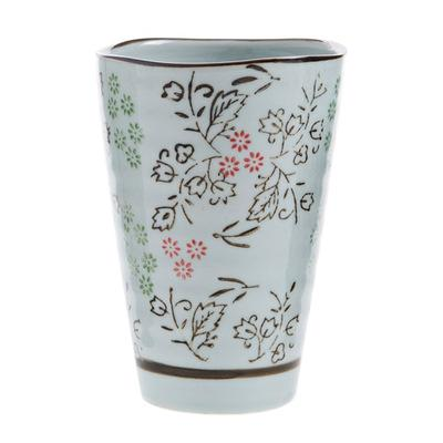 Hengfeng Handmade Ceramic Tea Cup - Flower / 200Ml - Cup & Mug
