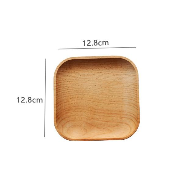 Round / Square Wooden Serving Tray - Square Tary - Box & Tray