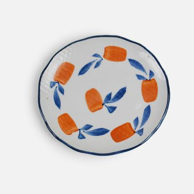 Hengfeng Japanese Style Ceramic Small Plate - Apricot - Plate