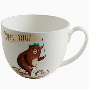 Cute the Bear Ceramic Cups