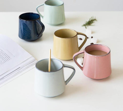 Nordic Style Retro Kiln Glazed Coffee Mug - Cup & Mug