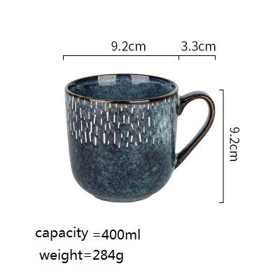 The Blue Forest Ceramic Cup - Cup - Plate