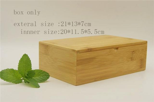 (100 Pcs/ Lot) 100% Natural Bamboo Drinking Straw - 21X13X7 Box Only - Other