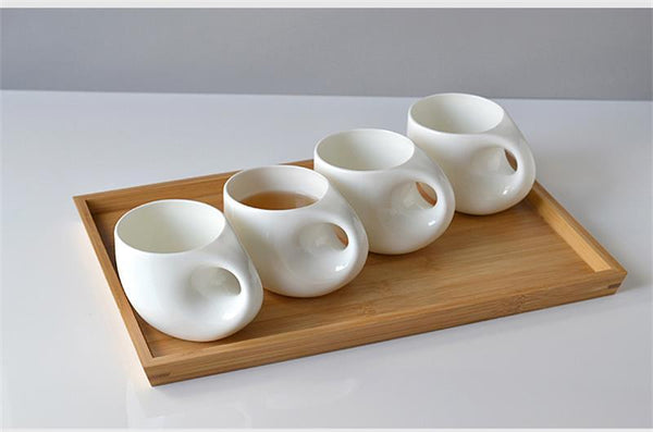 Creative Hone-Shaped Ceramic Cup