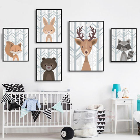 Illustration Wall Art Print