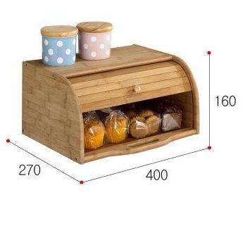 Japanese Style Wooden Bread storage box