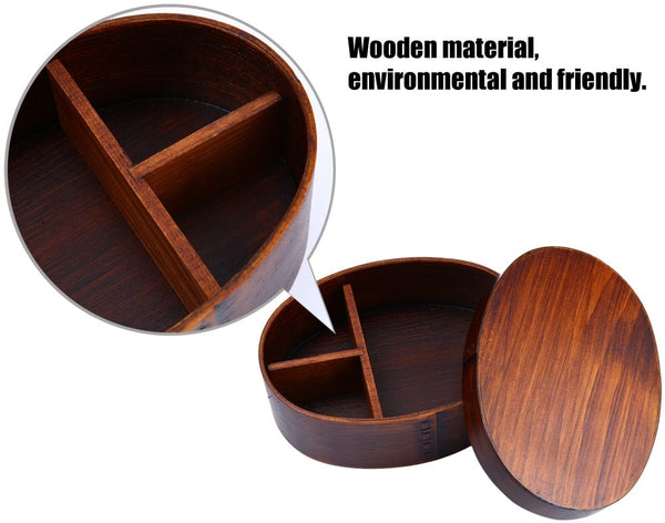 Japanese Wooden Bento Box