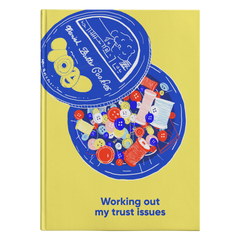 Working Out My Trust Issues Hardcover Journal