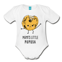 Mami's Little Pupusa Onesie - white