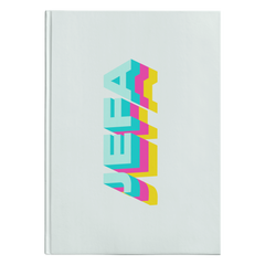 Jefa Multicolor Hardcover Journal