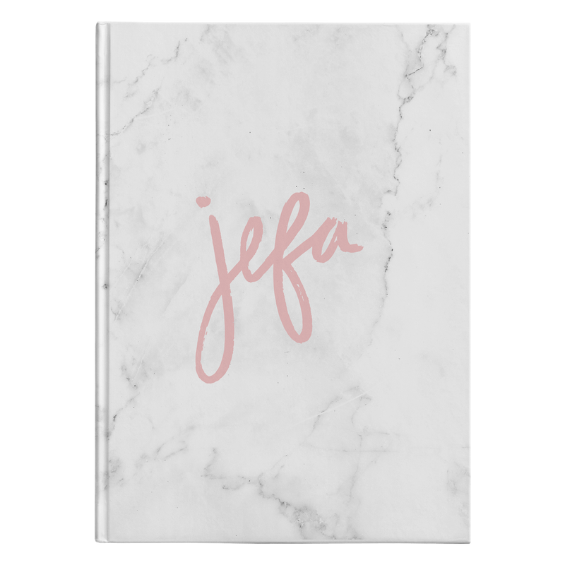 Jefa Hardcover Journal