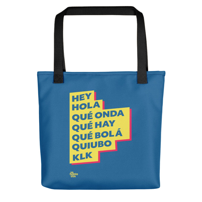 Hey, Hola Tote Bag