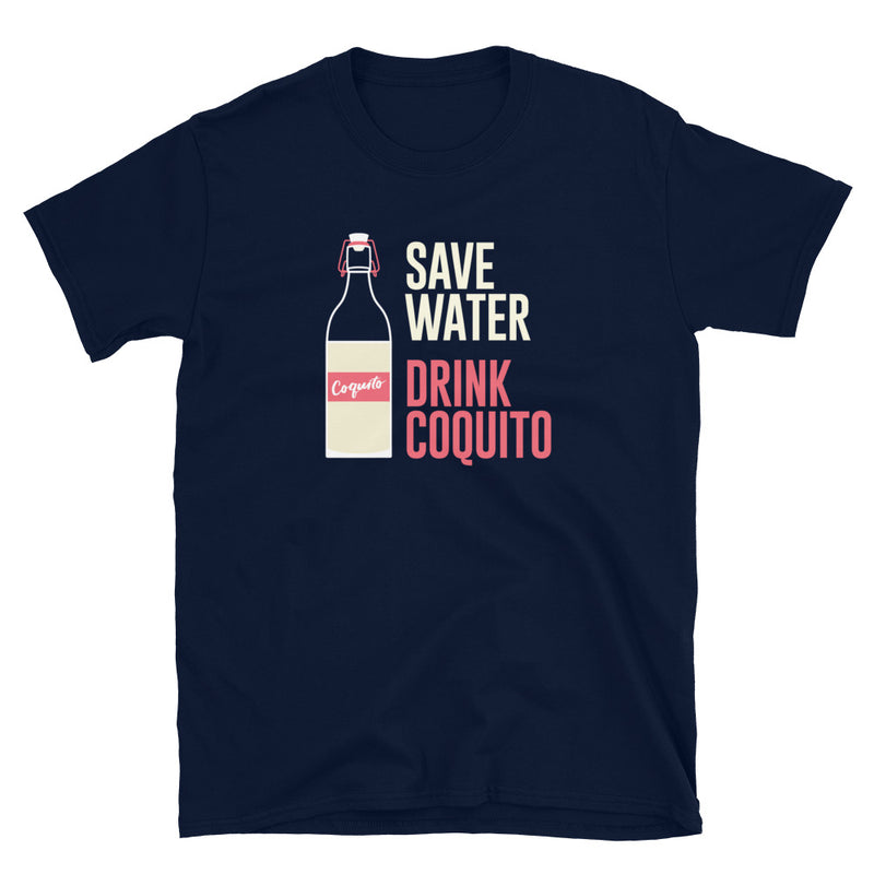 Save Water Drink Coquito Gildan Softstyle T-Shirt