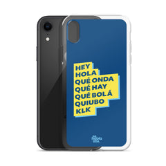 Hey, Hola iPhone Case
