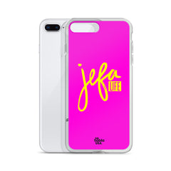 iPhone Case Jefa Life Pink