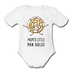 Mami's Little Pan Dulce Onesie - white
