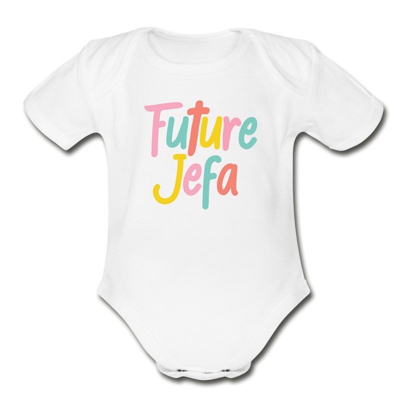 Future Jefa Onesie - white