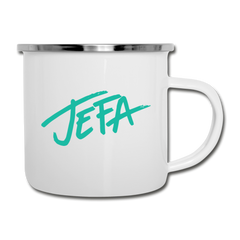 Jefa Retro Mug - white