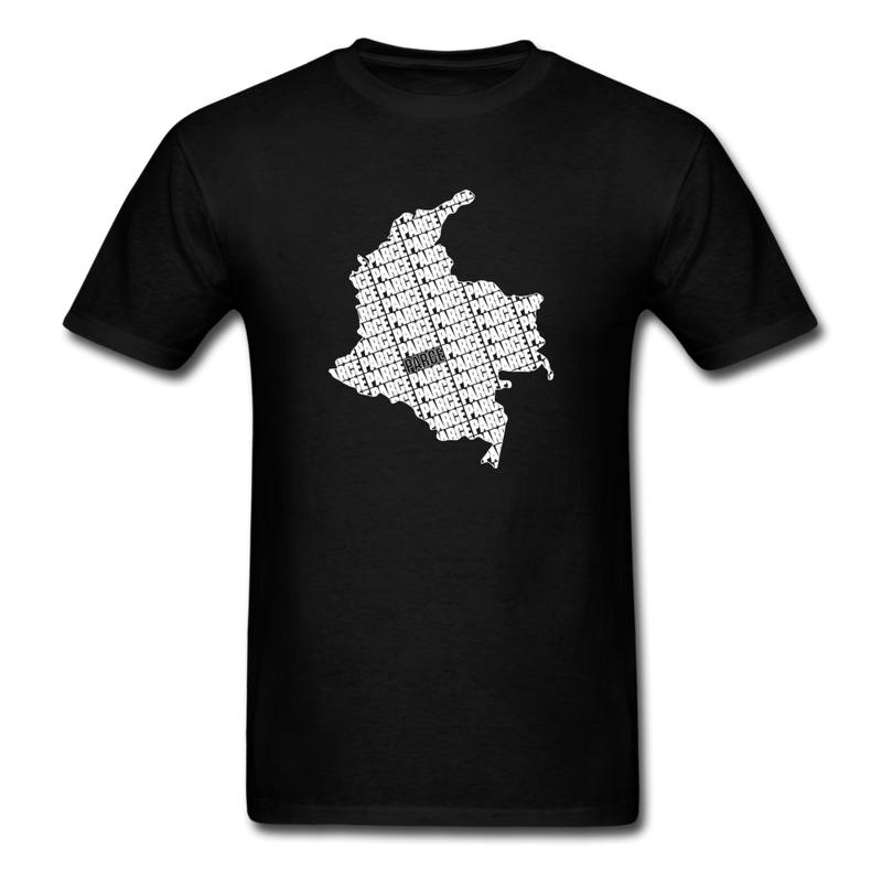 Colombia Parce Unisex T-Shirt Black - black