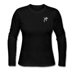 Jefa Women's Long Sleeve T-Shirt - black