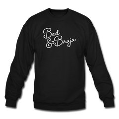Bad & Bruja Crewneck Sweatshirt - black