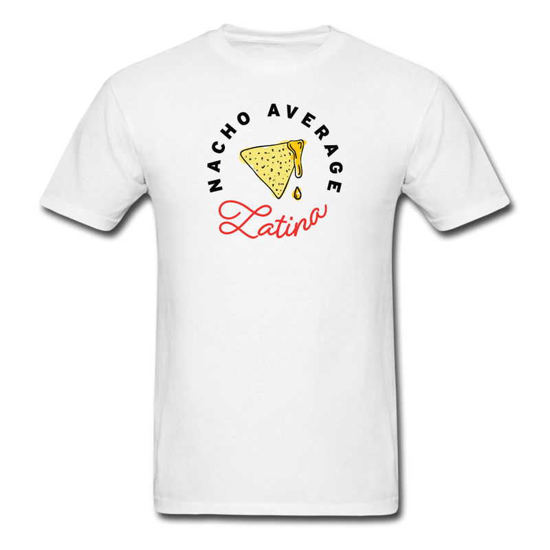 Nacho Average Latina T-Shirt White - white