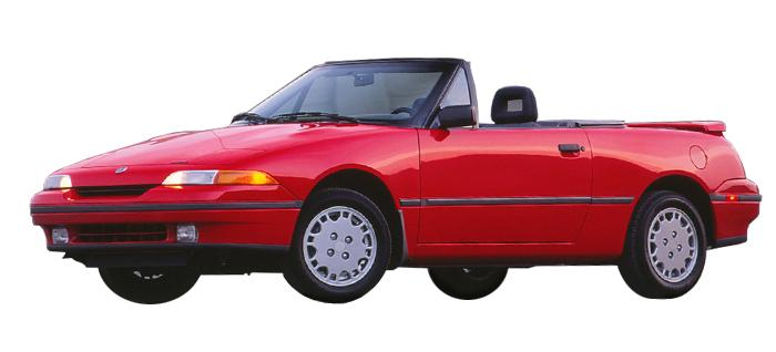 Ford Capri Convertible 1989-1993