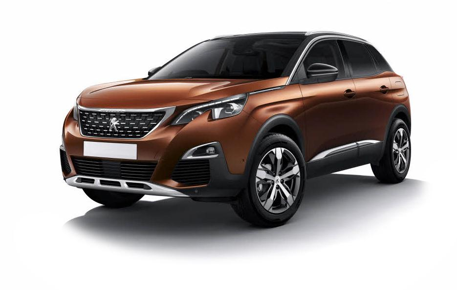 Peugeot 3008 SUV 2017-Current