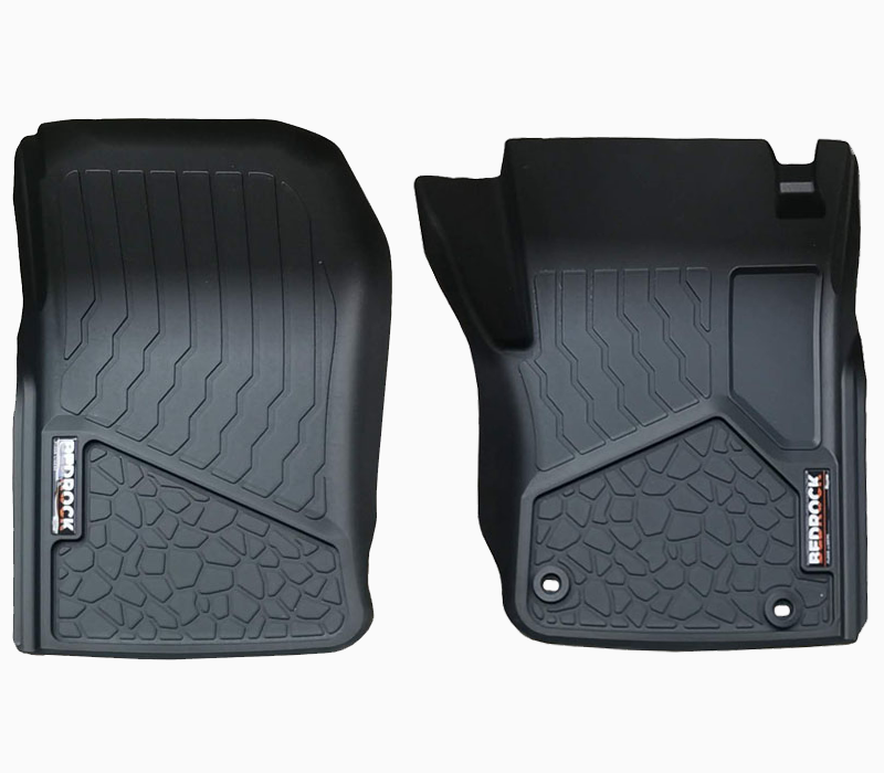 BedRock Floor Liners - Front Set to suit Toyota Landcruiser 76 Series 2009-Current