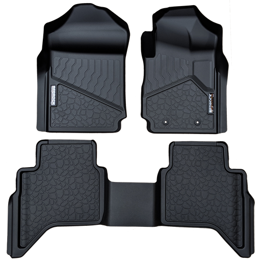 BedRock Floor Liners to suit Ford Ranger Ute PX3 (2018-Current)