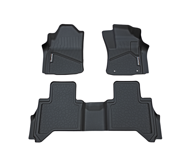 BedRock Floor Liners to suit Toyota Hilux Ute 2016-Current