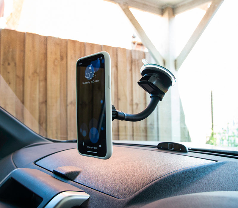 X. Phone Holder - Suction Mounted With Flexi-Arm
