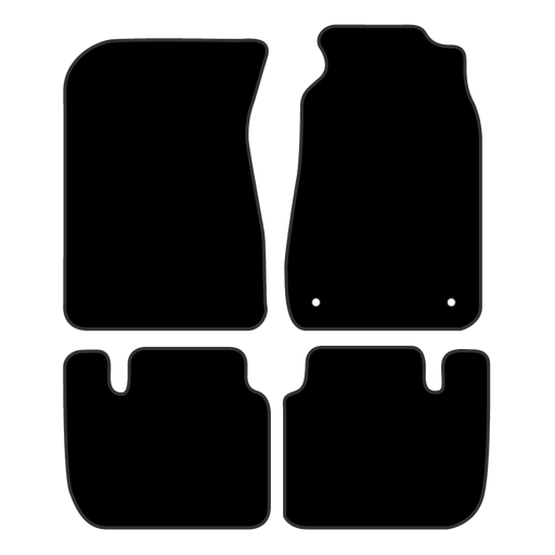 Car Mat Set suits Nissan 300ZX Coupe 1989-1996