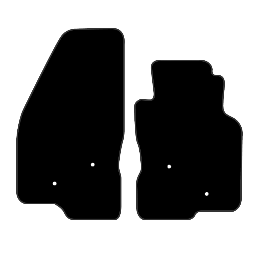 Car Mat Set suits Volvo S80 Sedan 1998-2006