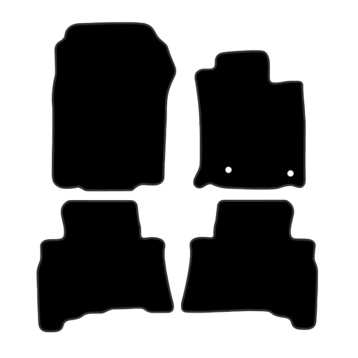 Car Mat Set suits Toyota Prado SUV 150 Series (2013-Current)