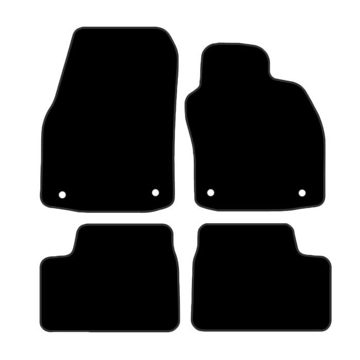 Car Mat Set suits Holden Astra Convertible AH (2004-2009)