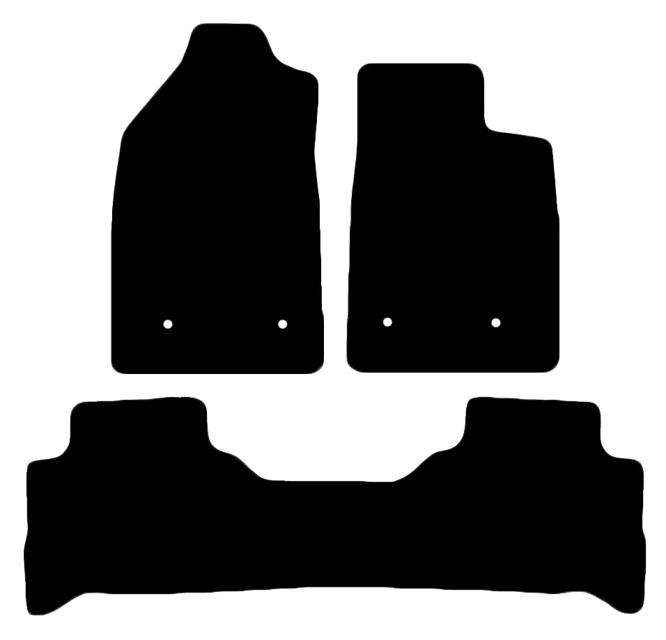 Car Mat Set suits Holden Trailblazer SUV 2017-Current
