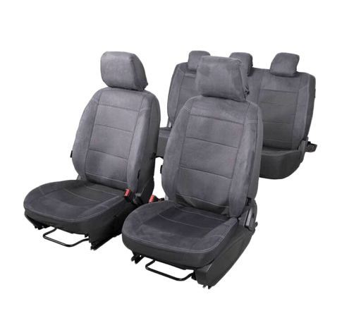 Seat Covers Microsuede to suit Mitsubishi Pajero SUV NS-NX (2006-2015