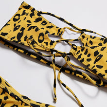Wild Yellow Leopard Set