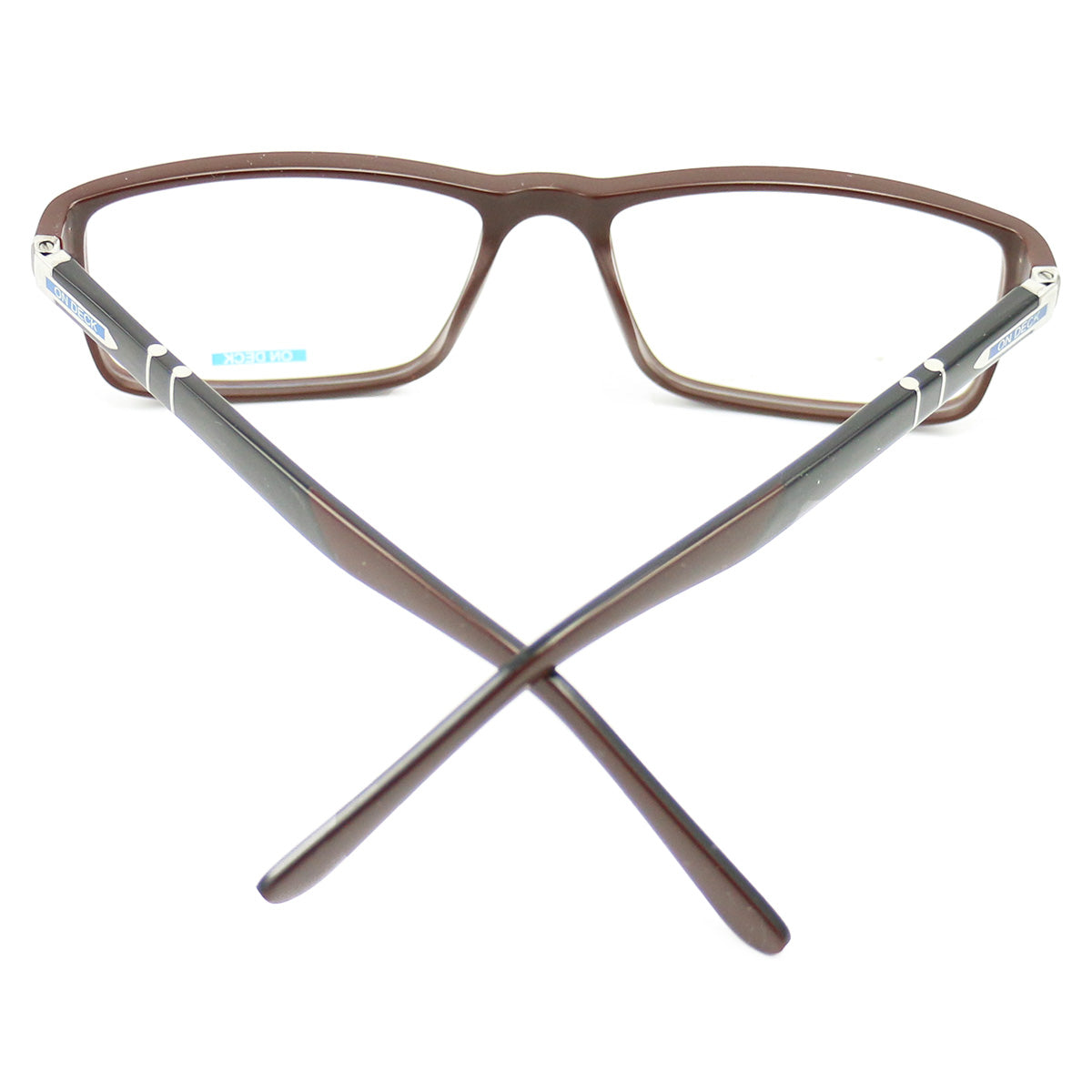 New On Deck Eyeglasses OD006 Acetate Brown 54 17 140 without case